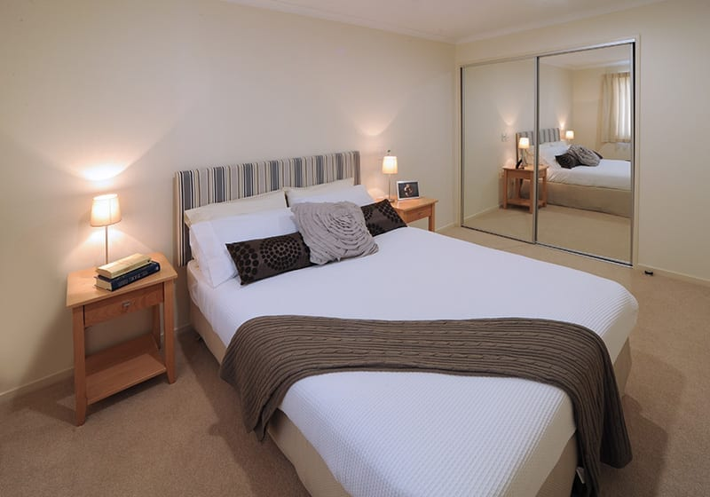 Bedrooms at Highgrove Village Apartments